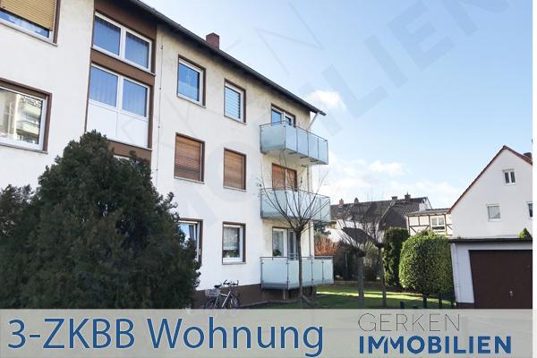 3-Zimmer-Wohnung mit 2 Balkonen
