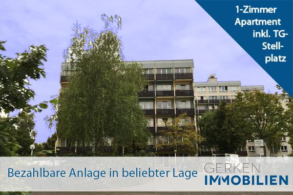 Kapitalanlage: 1-Zi-Apartment inkl. TG-Stellplatz