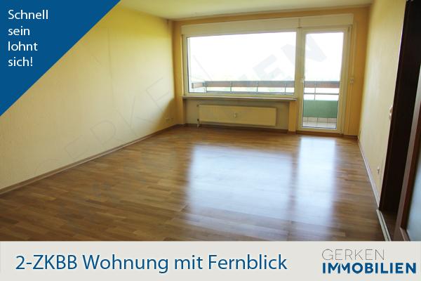 In die Ferne schauen! 2-ZKBB-Wohnung in Hochheim-West